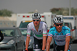 Irish Champion Matt Brammeier Omega Pharma-Quick Step before the start of the 1st Stage of the 2012 Tour of Qatar running from Umm Slal Mohammed to Doha Golf Club, Doha, Qatar, 5th February 2012 (Photo Eoin Clarke/Newsfile)