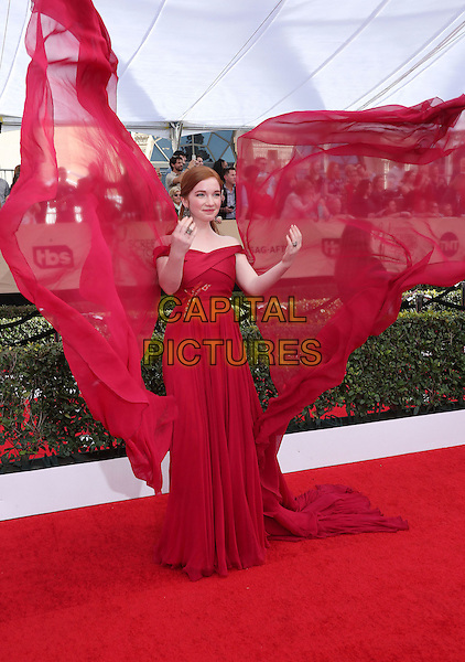 29 January 2017 - Los Angeles, California - Annalise Basso. 23rd Annual Screen Actors Guild Awards held at The Shrine Expo Hall. <br /> CAP/ADM/FS<br /> &copy;FS/ADM/Capital Pictures