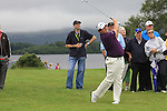 Shane Lowry playing his second shot on the 16th from deep into the rough on day two of the 3 Irish Open, at the Killarney Golf and Fishing Club, Killarney, Ireland.Picture Fran Caffrey/www.golffile.ie.