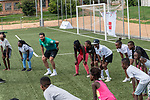 08.01.2019, AMANDLA Save Hub, Johannesburg, RSA, TL Werder Bremen Johannesburg Tag 06 - Besuch des AMANDLA Save Hub<br /> <br /> im Bild / picture shows <br /> <br /> Claudio Pizarro (Werder Bremen #04)<br /> <br /> <br /> **** Attention *** **** Attention *** <br /> <br /> Only be used for the purpose of documenting the Safe-Hub visit on 08 January 2019<br /> <br /> Foto © nordphoto / Kokenge