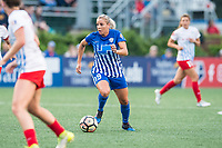 Boston, MA - Friday July 07, 2017: Adriana Leon during a regular season National Women's Soccer League (NWSL) match between the Boston Breakers and the Chicago Red Stars at Jordan Field.