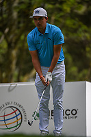 Rickie Fowler (USA) looks over his tee shot on 16 during round 3 of the World Golf Championships, Mexico, Club De Golf Chapultepec, Mexico City, Mexico. 2/23/2019.<br /> Picture: Golffile | Ken Murray<br /> <br /> <br /> All photo usage must carry mandatory copyright credit (© Golffile | Ken Murray)