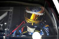 Oct. 10, 2009; Fontana, CA, USA; NASCAR Sprint Cup Series driver A.J. Allmendinger during practice for the Pepsi 500 at Auto Club Speedway. Mandatory Credit: Mark J. Rebilas-