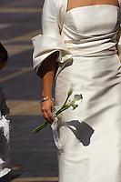 Spanien, Kastilien-Leon, Leon (León), Hochzeit vor der Kathedrale
