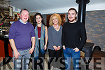 Declan, Shauna, Noreen and Alan Horan from Strand Rd enjoying the night out in the Brogue Inn  on Friday night.