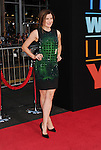 HOLLYWOOD, CA- SEPTEMBER 15: Actress Kathryn Hahn arrives at the 'This Is Where I Leave You' - Los Angeles Premiere at TCL Chinese Theatre on September 15, 2014 in Hollywood, California.