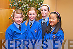 Aoife Hickey, Clara Carroll, Roisin  Buckley and Aine Costello from Presentation primary at the Tralee Credit Union Primary Schools Quiz, held at Ballyroe Heights Hotel on Sunday