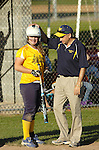 Montoursville player and coach in Little League Softball.