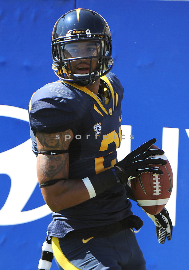 California Golden Bears Keenan Allen (21) in action during a game against the Southern Utah Thunderbirds on September 8, 2012 at Memorial Stadium in Berkeley, CA. Cal beat Southern Utah 50-31.