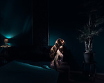 Katy in the blue room, Bordoll Dortmund.<br />
