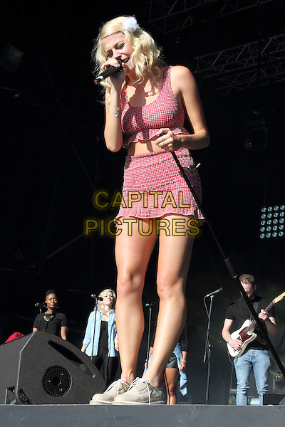 BIRMINGHAM, UNITED KINGDOM - AUGUST 31: Pixie Lott performs during day 2 of Fusion Festival 2014 on August 31, 2014 in Birmingham, England.<br /> CAP/ROS<br /> &copy;Steve Ross/Capital Pictures