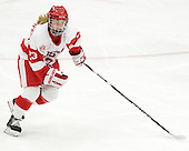 Sarah Bayersdorfer (BU - 23) - The Boston University Terriers defeated the Harvard University Crimson 5-2 on Monday, January 31, 2012, in the opening round of the 2012 Women's Beanpot at Walter Brown Arena in Boston, Massachusetts.