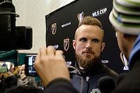 Toronto, ON, Canada - Thursday Dec. 08, 2016: Stefan Frei during training prior to MLS Cup at the Kia Training Grounds.