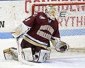 John Muse (BC - 1) - The Northeastern University Huskies defeated the Boston College Eagles 3-2 on Friday, February 19, 2010, at Matthews Arena in Boston, Massachusetts.