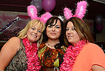 Audrey, Laura and Alison Begley at Kelly Begley's hen night in Barocco. Photo: Andy Spearman. www.newsfile.ie
