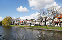 Nederland Zaandam 2016 04 17. De Prins Hendrikkade aan de Zaan. Foto Berlinda van Dam / Hollandse Hoogte