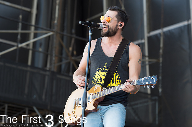Matthew Ramsey of Old Dominion performs onstage during The Tortuga Music Festival in Fort Lauderdale, Florida.
