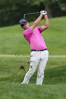 Bethesda, MD - July 2, 2017: Kevin Streelman shot from the rough during final round of professional play at the Quicken Loans National Tournament at TPC Potomac  in Bethesda, MD, July 2, 2017.  (Photo by Elliott Brown/Media Images International)