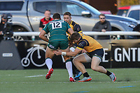 Match action during the Greene King IPA Championship match between Ealing Trailfinders and London Irish Rugby Football Club  at Castle Bar, West Ealing, England  on 1 September 2018. Photo by David Horn.