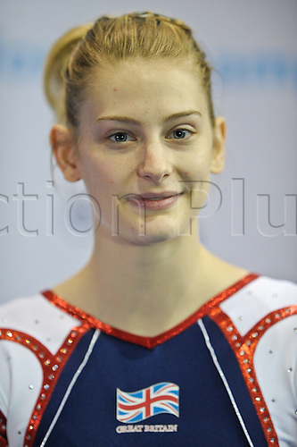 17.11.2011 Birmingham, England. Trampoline and Tumbling World Championships. Bryony Paige