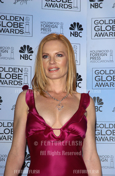 MARG HELGENBERGER at the 61st Annual Golden Globe Awards at the Beverly Hilton Hotel, Beverly Hills, CA..January 25, 2004