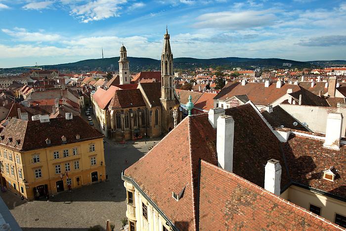 Roof top views Sopron, Hungary