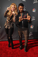 """Shakira, Usher<br /> at NBC's """"The Voice"""" Red Carpet Event, The Sayers Club, Hollywood, CA 04-03-14<br /> David Edwards/DailyCeleb.Com 818-249-4998"""