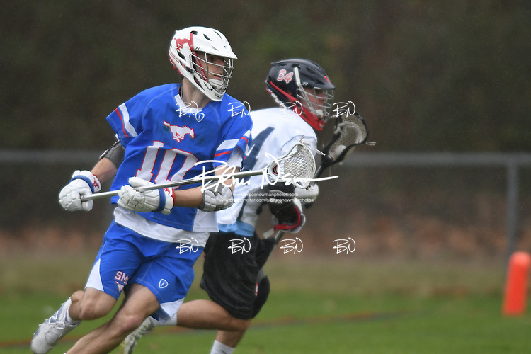 Ole Miss vs. SMU in lacrosse action, at the Ole Miss Intramural Field in Oxford, Miss. on Sunday, February 12, 2017.