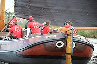 ZEILEN: GROU: Pikmar, De Tynje, Wide Ie, 30-07-2016, SKS skûtsjesilen, openingswedstrijd, Jeroen Pietersma (Drachten), ©foto Martin de Jong