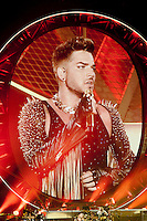 Queen with Adam Lambert. North American Tour at The Forum (Los Angeles) Friday July 3, 2014