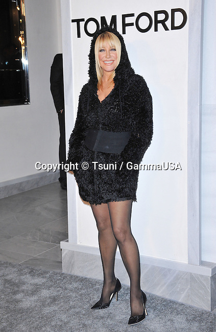 Suzanne Somers at the Opening of Tom Ford Store in Beverly Hills.