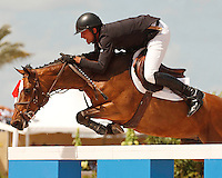 Athena ridden by Charlie Jayne,  USEF trials#2 Wellington Florida. 3-22-2012
