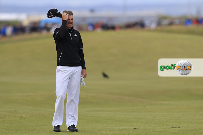 Greg Owen (ENG) during Sunday's Round  of the 144th Open Championship, St Andrews Old Course, St Andrews, Fife, Scotland. 19/07/2015.<br /> Picture Eoin Clarke, www.golffile.ie