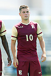 28 August 2016: Elon's Marcel Fahrenholz (GER). The Elon University Phoenix played the University of San Diego Toreros at Koskinen Stadium in Durham, North Carolina in a 2016 NCAA Division I Men's Soccer match. USD won the game 2-1.