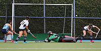 Auckland Intercity women's hockey match between Somerville and Howick Pakuranga at Lloyd Elsmore Park in Auckland, New Zealand on Saturday, 18 July 2020. Photo: Simon Watts / bwmedia.co.nz