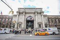 NOVA YORK, EUA, 15.04.2019 - MUSEU-NOVA YORK - Vista do Museu de Historia Natural na Ilha de Manhattan em Nova York nesta segunda-feira. 15.  (Foto: Vanessa Carvalho/Brazil Photo Press)