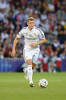 Cardiff City Stadium, Cardiff, South Wales - Tuesday 12th Aug 2014 - UEFA Super Cup Final - Real Madrid v Sevilla - <br /> <br /> Real Madrid&rsquo;s Toni Kroos in action<br /> <br /> <br /> <br /> <br /> Photo by Jeff Thomas/Jeff Thomas Photography
