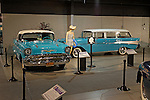 Vintage cars on display at the Northeast Classic Car Museum, Norwich, New York, USA