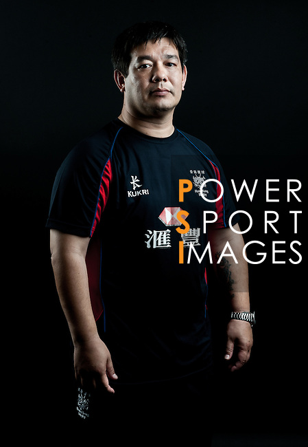 Martin Kibble poses during the Hong Kong 7's Squads Portraits on 5 March 2012 at the King's Park Sport Ground in Hong Kong. Photo by Andy Jones / The Power of Sport Images for HKRFU