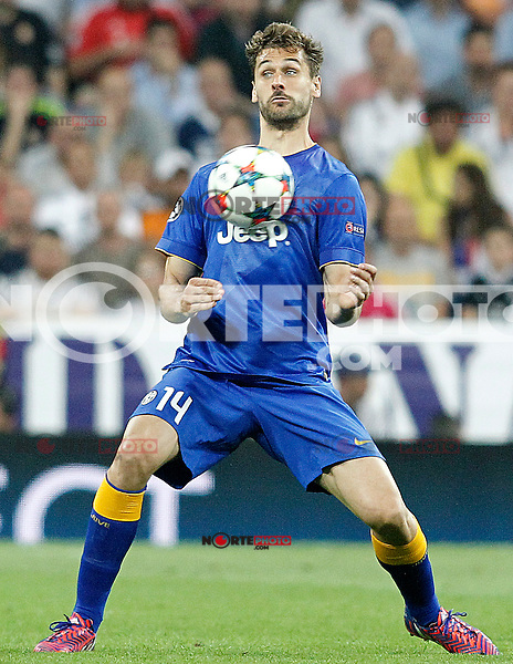 Juventus' Fernando LLorente during Champions League 2014/2015 Semi-finals 2nd leg match.May 13,2015. (ALTERPHOTOS/Acero) /NortePhoto.COM
