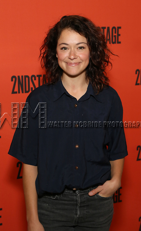 Tatiana Maslany  during the photo call for the Second Stage production of 'Mary Page Marlowe' on June 12, 2018 in New York City.