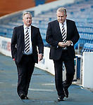 Rangers Chairman David Somers with CEO Graham Wallace