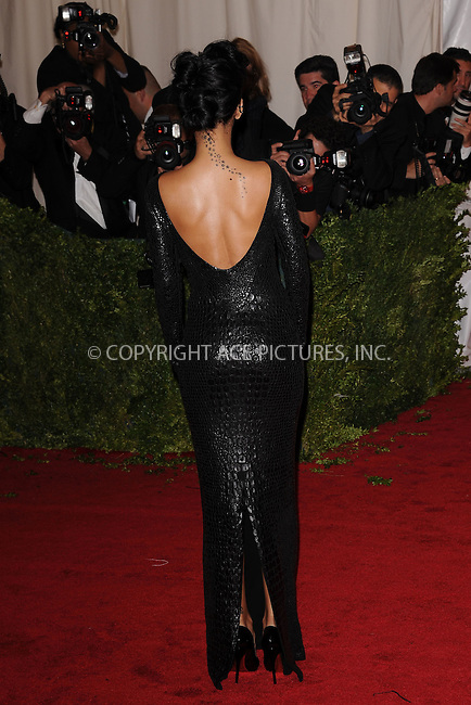 "WWW.ACEPIXS.COM . . . . . .May 7, 2012...New York City....Rihanna attending the ""Schiaparelli and Prada: Impossible Conversations"" Costume Institute Gala at The Metropolitan Museum of Art in New York City on May 7, 2012  in New York City ....Please byline: KRISTIN CALLAHAN - ACEPIXS.COM.. . . . . . ..Ace Pictures, Inc: ..tel: (212) 243 8787 or (646) 769 0430..e-mail: info@acepixs.com..web: http://www.acepixs.com ."