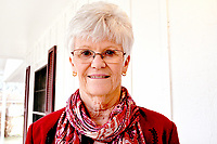 RACHEL DICKERSON/MCDONALD COUNTY PRESS Marilyn O'Brien of Pineville is a retired minister who now works for the Ozark Funeral Home.