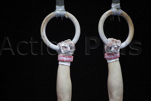 15.05.09 Glasgow Gymnastics Grand Prix Rings detail