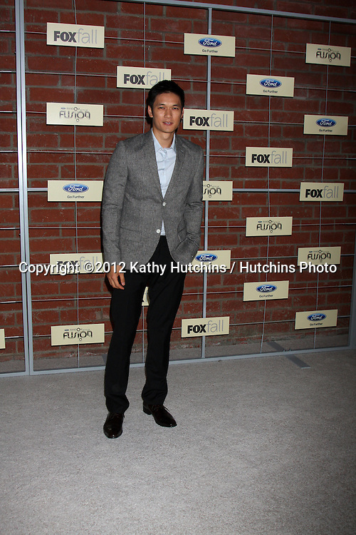 LOS ANGELES - SEP 10:  Harry Shum, Jr. arrives at the FOX Eco-Casino Party 2012 at Bookbindery on September 10, 2012 in Culver City, CA