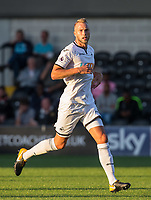 Mike van der Hoorn of Swansea City during the 2017/18 Pre Season Friendly match between Barnet and Swansea City at The Hive, London, England on 12 July 2017. Photo by Andy Rowland.