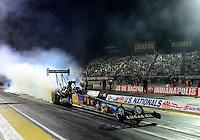31 August - 3 September, 2012, Indianapolis, Indiana USA, Brandon Bernstein, MAV TV, Lucas Oil, top fuel dragster @2012, Mark J. Rebilas