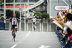 Riders in action during the Tour de France Saitama Critérium 2017 held around the streets os Saitama, Japan. 4th November 2017.<br /> Picture: ASO/Pauline Ballet | Cyclefile<br /> <br /> <br /> All photos usage must carry mandatory copyright credit (© Cyclefile | ASO/Pauline Ballet)