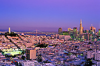 USA, California, San Francisco. View of city skyline